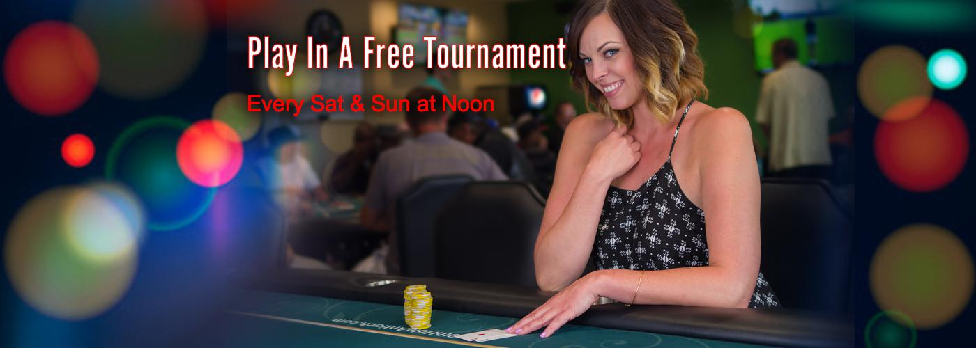 Meagan Likes To Play In The Free Roll Tournaments Saturday & Sunday